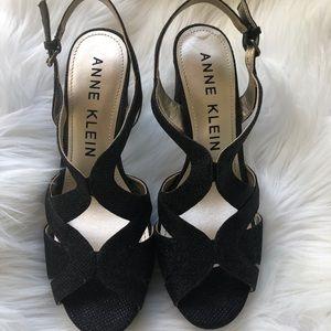 Anne Klein Black High Heels